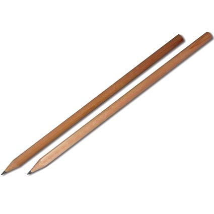 natural wooden pencil