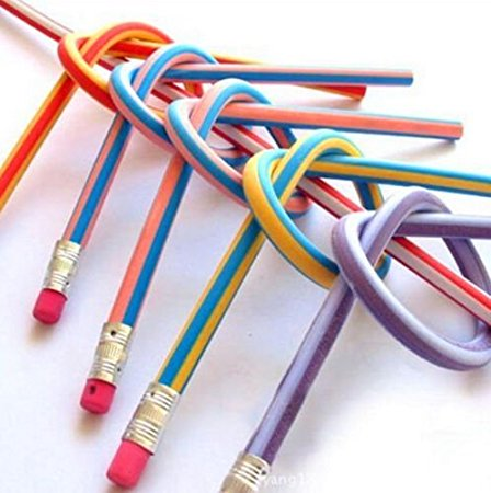 Soft Flexible Bendy Pencils