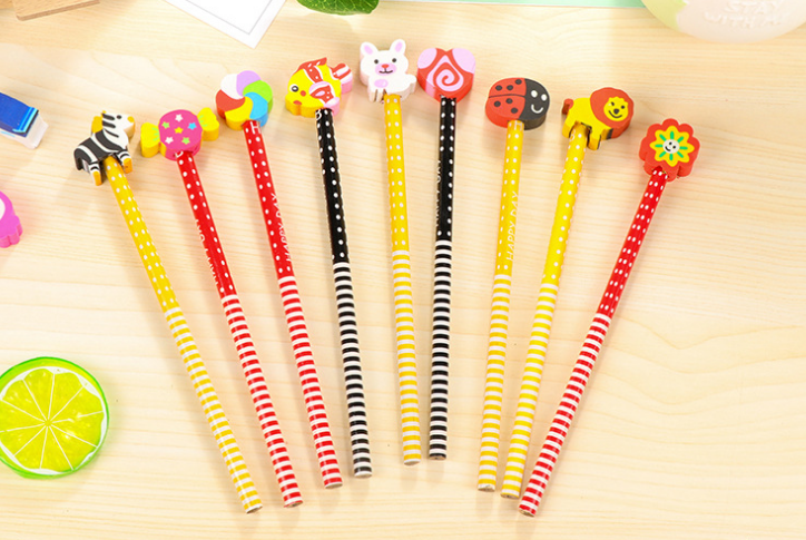 Novelty Cartoon pencil for kids