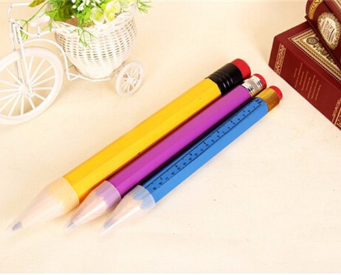 Three size wooden giant pencil