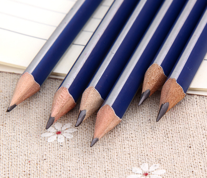 High Quality Triangle Wood Pencils